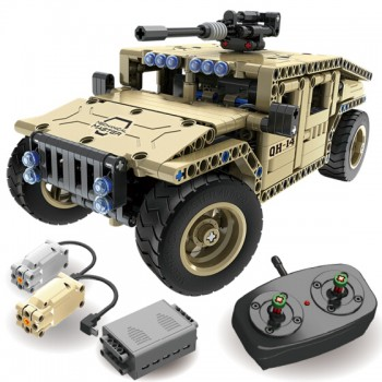 TEKNO BRICKS Military Force Car NO.8014