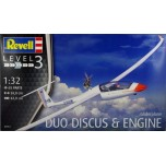 Gliderplane Duo Discus & Engine (1:32)