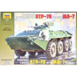 Model Kit military 3587 - BTR-70 with MA-7 Turret (1:35)