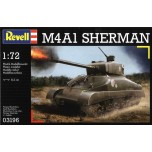 M4A1 Sherman 1/72 + World of Tanks PC game LIMITED