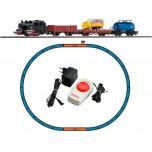 Startset PIKO H0 - Parná lokomotíva + 3 nákladné vagóny